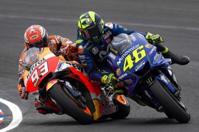 Tolak Pensiun di MotoGP Belanda 2021, Valentino Rossi Makin Dipermalukan Marc Marquez?