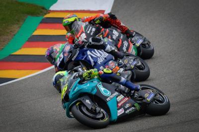Juara di Sachsenring, Marc Marquez Permalukan Valentino Rossi Lagi di MotoGP Belanda 2021?