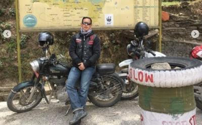 Intip Gaya Touring Chef Juna Bareng Klub Moge, Sampai ke Everest Lho