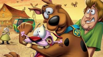 Dua Anjing Penakut, Scooby-Doo dan Courage Kolab di Film Straight Outta Nowhere
