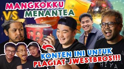 Chef Arnold, Coki Pardede, Tretan Muslim Review Menu Menantea & Mangkokku!
