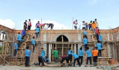 Pembangunan Masjid Pakai Dana Bantuan Non-Muslim Bolehkah?
