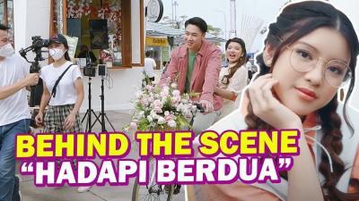 "Serunya Kegiatan di Belakang Layar MV ""Hadapi Berdua"" Tiara Andini!"