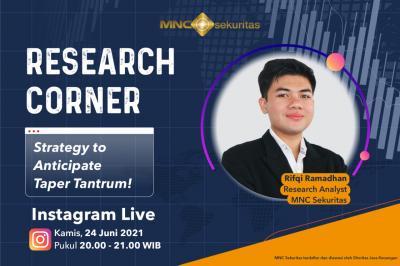 Strategi Cuan Hadapi Taper Tantrum, Simak di IG Live MNC Sekuritas Pukul 20.00!