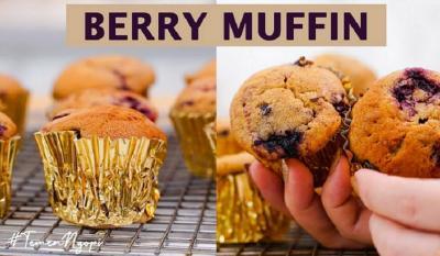 Lembut Banget, Ini Resep Muffin Blackberry ala Chef Stefani Horison
