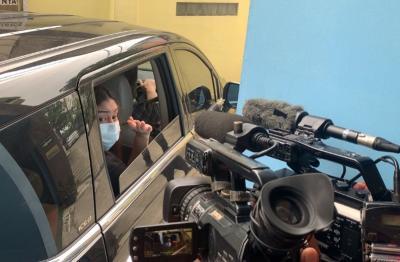 Dampingi Saksi di Sidang, Thalita Latief Irit Bicara