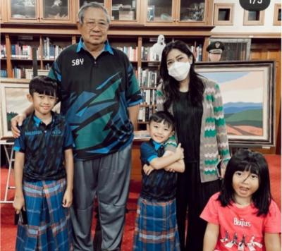 Ani Yudhoyono Hadir Dalam Mimpi, Istri Ibas: Terima Kasih Memo..