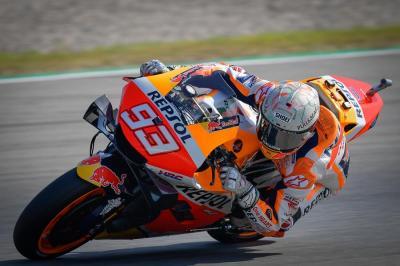 Hasil Latihan Bebas 1 MotoGP Belanda 2021: Marc Marquez 10 Besar, Valentino Rossi di Belakang
