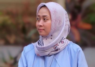 OOTD Hijab Simpel Cantik ala Maria Febe Kusumastuti, Pebulutangkis Mualaf Indonesia