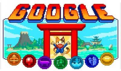 Sambut Olimipiade Tokyo, Google Doodle Hadirkan Game 16-bit