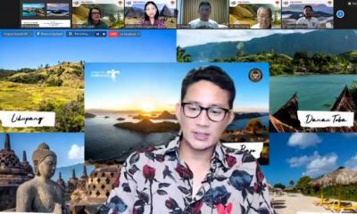 Sandiaga Uno Ajak Masyarakat Singapura Wisata Virtual ke Labuan Bajo dan Bromo