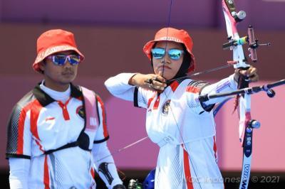 Kalah di Beregu Campuran, Ini Target Timnas Panahan Indonesia Selanjutnya di Olimpiade Tokyo 2020