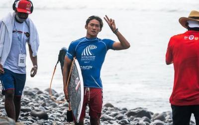 Kesampingkan Badai, Ombak Diharapkan Bantu Peselancar Rio Waida Raih Hasil Maksimal di Olimpiade Tokyo 2020