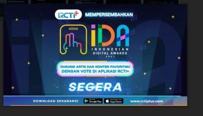 RCTI+ Kembali Gelar Indonesian Digital Awards Tahun Ini