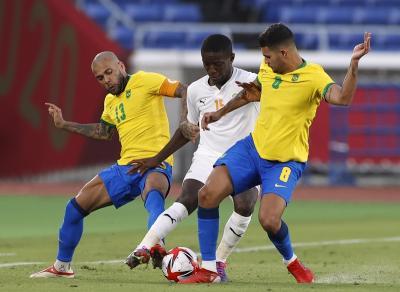 Hasil Sepakbola Olimpiade Tokyo 2020: Brasil U-23 vs Pantai Gading U-23 Berakhir Tanpa Gol