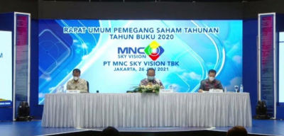 MNC Sky Vision Raup Pendapatan Rp2,02 Triliun pada 2020