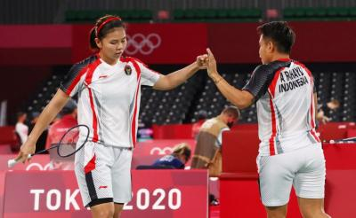 Hasil Olimpiade Tokyo 2020: Greysia Apriyani Lolos ke Perempatfinal Usai Hajar Wakil Inggris
