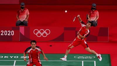 Hasil Olimpiade Tokyo 2020: Ahsan Hendra Petik Kemenangan atas Wakil Malaysia