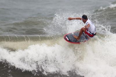 Hasil Selancar Olimpiade Tokyo 2020: Rio Waida Gagal Melaju ke Perempatfinal Usai Kalah dari Atlet Jepang