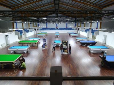 Cabor Biliar di PON Papua Gunakan Meja Biliar Kejuaraan Dunia