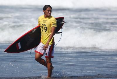 Terhenti di 16 Besar Olimpiade Tokyo 2020, Peselancar Rio Waida Sebut Kondisi Laut Tak Mendukung