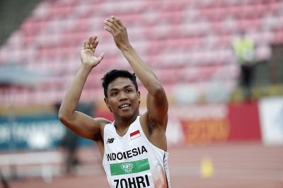 Olimpiade Tokyo 2020, Lalu Muhammad Zohri dan Alvin Langsung Latihan Setibanya di Tokyo
