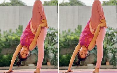 Dewi Perssik Pamer Pose Yoga Tak Biasa, Netizen Ngilu