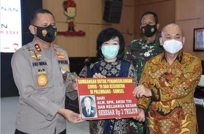 Pengusaha Asal Aceh Sumbang Rp2 Triliun untuk Penanganan Covid-19 di Sumsel