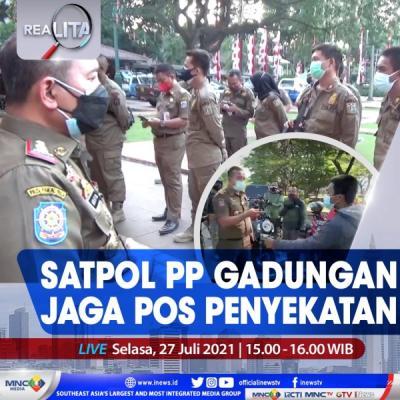 Satpol PP Gadungan Jaga Pos Penyekatan, Selengkapnya di Realita Selasa Pukul 15.00 WIB