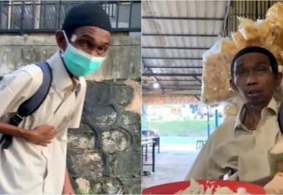 Video Pria Kelaparan Viral, Netizen Minta Jangan Hanya Razia Masker, Razia Orang Lapar Juga Digelar