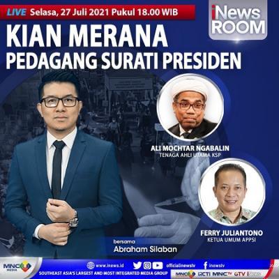Kian Merana, Pedagang Surati Presiden. Selengkapnya di iNews Room Selasa Pukul 18.00 WIB