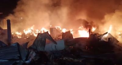 Kebakaran Gudang Gas dan Mebel di Kembangan, Kerugian hingga Rp1 Miliar