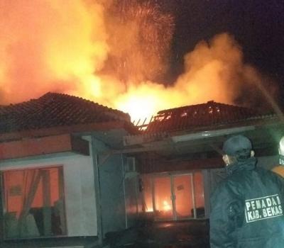 Kantor Pos di Bekasi Terbakar, Kerugian Capai Rp1 Miliar