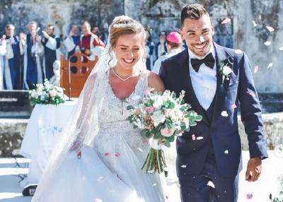 Penuh Kebahagiaan, Miguel Oliveira Resmi Menikahi Adik Tirinya