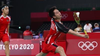 Tunduk dari Wakil Taiwan, Marcus Gideon Kevin Sanjaya Masih Punya Peluang Juara Grup A Bulu Tangkis Olimpiade Tokyo 2020