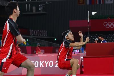 Marcus Kevin Dilibas Ganda Taiwan di Olimpiade Tokyo 2020, Herry IP Tetap Tenang