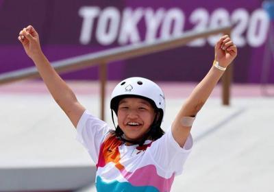Baru 13 Tahun, 2 Atlet Skateboard Ini Cetak Sejarah di Olimpiade Tokyo 2020