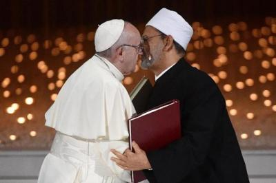 Imam Besar Al Azhar dan Paus Fransiskus Akan Menerima Gelar Doktor HC dari UIN Yogyakarta