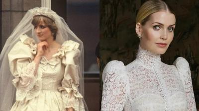 Menikah, Gaun Pengantin Lady Kitty Spencer Mirip Milik Putri Diana 40 Tahun Lalu