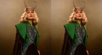 Intip Cinta Laura Bergaya Lady Loki, Ibunda: Aduh Galak!