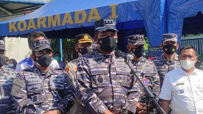 TNI AL Kirim 2 Kapal Oksigen ke Semarang dan Surabaya