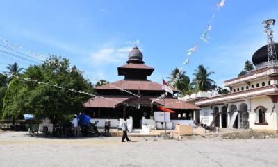 Berusia 394 Tahun, Masjid Pucok Krueng Beuracan di Aceh Masih Berdiri Kokoh