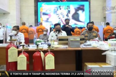 Polisi Tangkap 6 Penjual Tabung Pemadam Kebakaran yang Diubah Jadi Tabung Oksigen