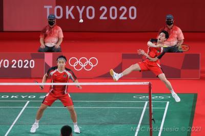 Capai Perempatfinal Olimpiade Tokyo 2020, Marcus Kevin Tak Mau Lengah Lagi