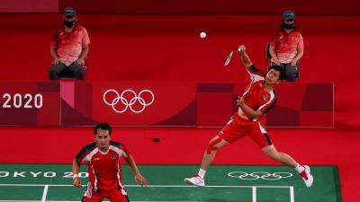 Jelang Perempatfinal Bulu Tangkis Olimpiade Tokyo 2020, Kondisi Ahsan Hendra Melonjak