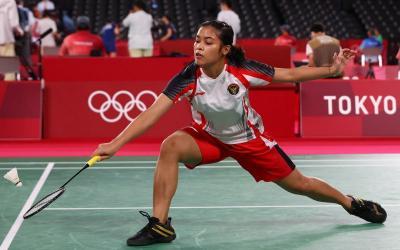 Bantai Wakil Belgia, Gregoria Mariska Lolos ke Fase Gugur Bulu Tangkis Olimpiade Tokyo 2020