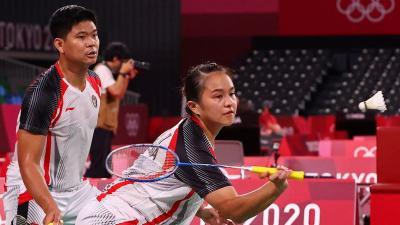 Untuk Pertama Kalinya sejak 2004, Tak Ada Wakil Ganda Campuran Indonesia di Semifinal Bulu Tangkis Olimpiade