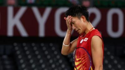 Kejutan! Kento Momota Dihentikan Wakil Korea di Olimpiade Tokyo 2020