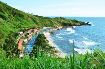 Pantai Menganti Kebumen, Destinasi Wisata Eksotis Seperti di Selandia Baru