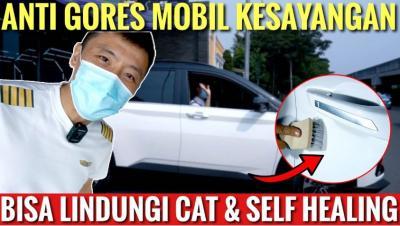 Captain Vincent Pasang Antigores Mobil, Baret Ringan Langsung Hilang!
